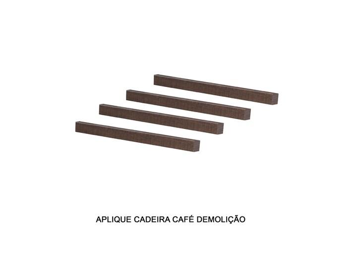 Conjunto Com 4 Apliques Encosto Cadeira Nova Romana/recife/florença