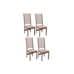 Conjunto Com 4 Cadeiras Barcelona