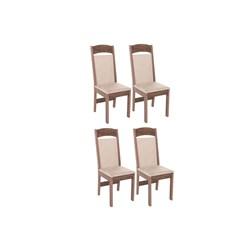 Conjunto Com 4 Cadeiras Catedral