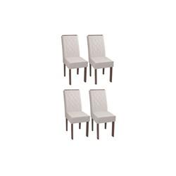 Conjunto Com 4 Cadeiras Florença