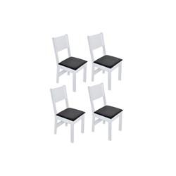 Conjunto Com 4 Cadeiras Milena Fosca