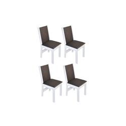 Conjunto Com 4 Cadeiras Nobre