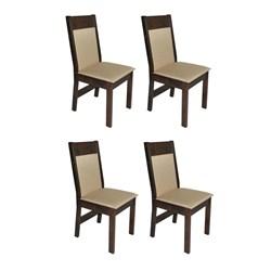 Conjunto Com 4 Cadeiras  Priscilla