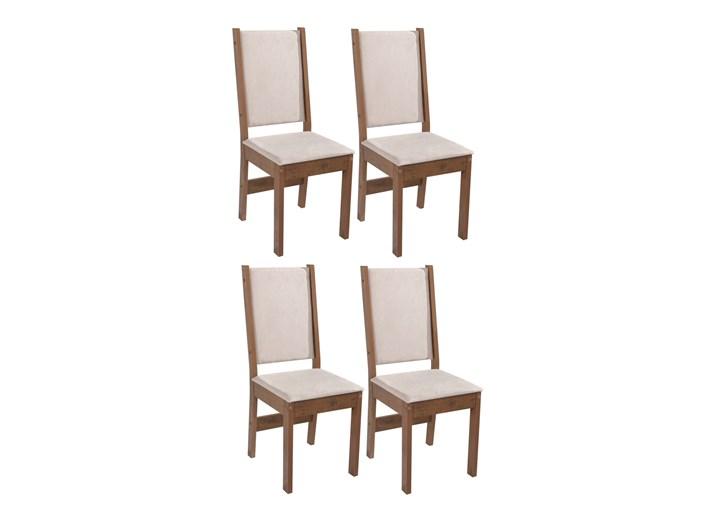 Conjunto Com 4 Cadeiras Rosa