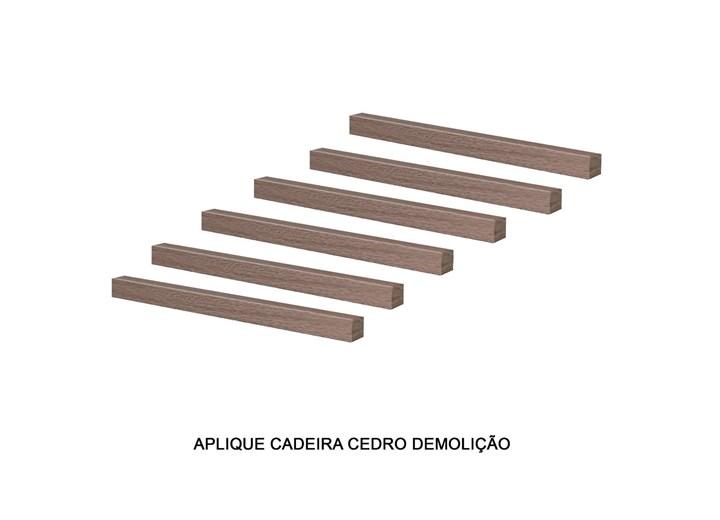 Conjunto Com 6 Apliques Encosto Cadeira Nova Romana/recife/florença