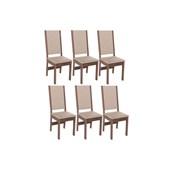 Produto Conjunto Com 6 Cadeiras Barcelona