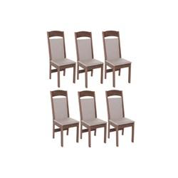 Conjunto Com 6 Cadeiras Catedral