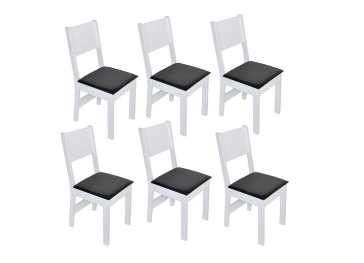 Conjunto Com 6 Cadeiras Milena Fosca