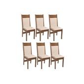 Produto Conjunto Com 6 Cadeiras Priscilla