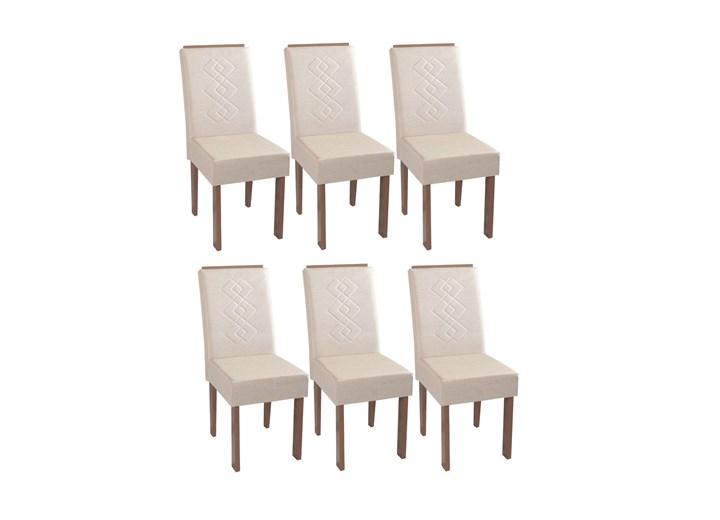 Conjunto Com 6 Cadeiras Recife